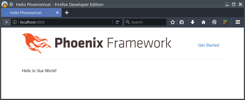 Phoenix - Hello to Vue World!